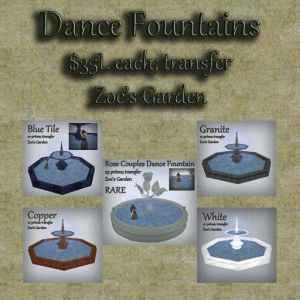 Dance Fountain GACHA AD