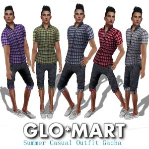 Glo-Mart Summer Casual Outfit AD
