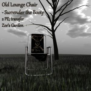 Old Lounge Chair - Surrender the Booty AD
