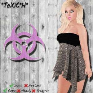 _ToXiC_H_ Sweetheart Dress Brown Dots